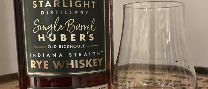 Review of Starlight Single Barrel Rye (21 Kings x #Greg's Pick Private Selection)