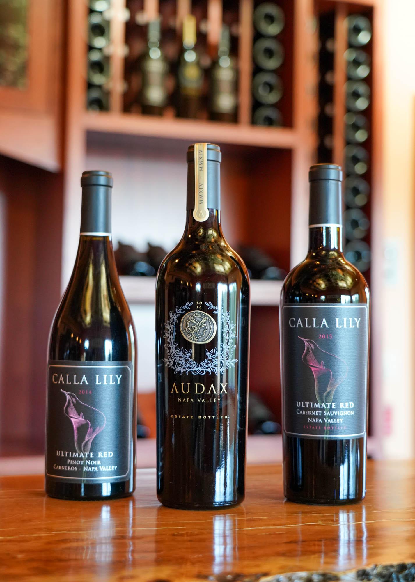 Calla Lily wines