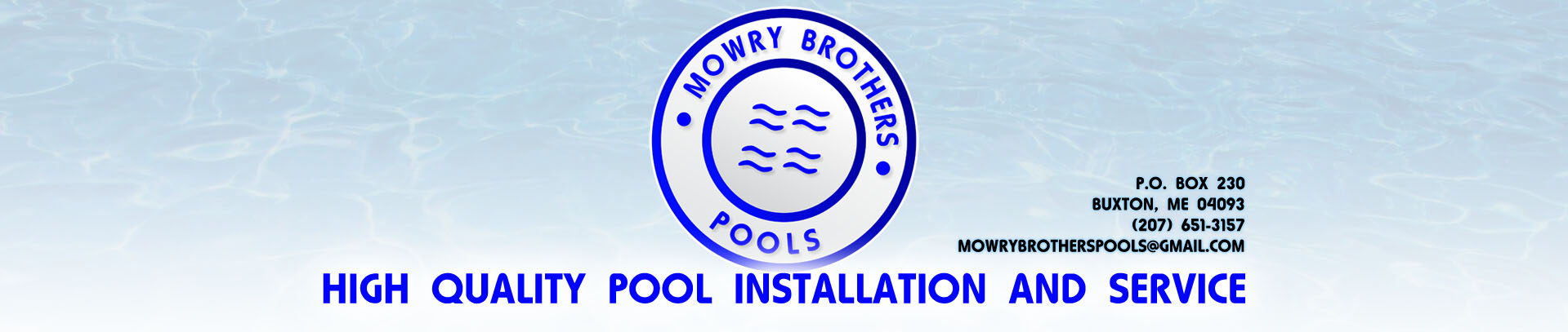 Mowry Brothers Pools