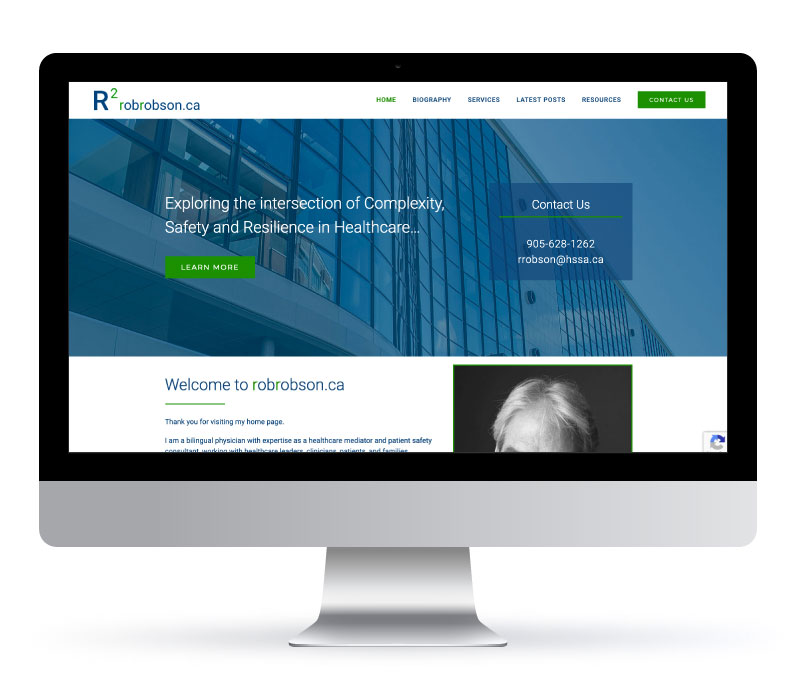 R2 Rob Robson - Website created by Jessica Design. Graphic and Web services in Hamilton.