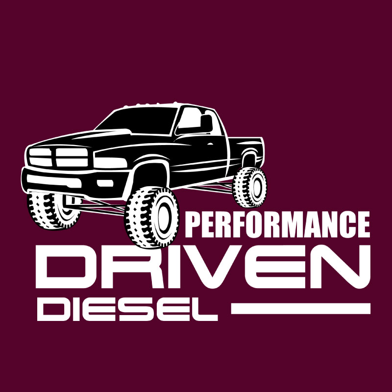 Performance Driven Diesel - T-Shirt Logo Design made with Jessica Design, graphic design services in Hamilton.