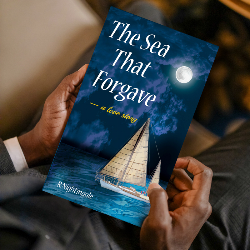 Book Cover Design - The Sea that Forgave by Jessica Design here in Ontario.