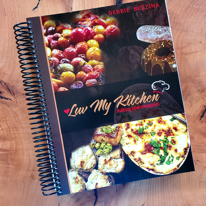 Cook Book - Luv my Kitchen by Jessica Design, Branding and Web Design.