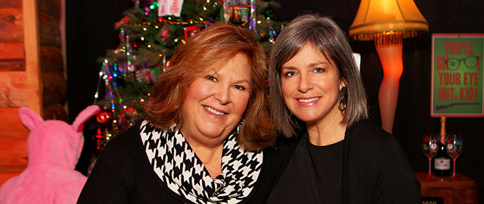 Sue Price and Gigi Ashley at Rogue Winterfest