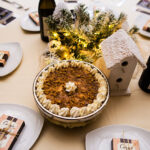 Rogue Winterfest 2016 Gala and Grand Auction Table Setting with Cake and Carys Chocolate