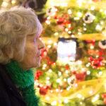 Rogue Winterfest 2016 Golden Social Guest Gazing at Christmas Lights