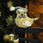 Rogue Winterfest 2016 Trees A Woodland Christmas Bird with Bowtie