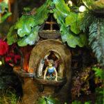 Rogue Winterfest 2016 Trees Secret World of Fairies Fairy in Tree House