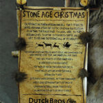 Rogue Winterfest 2016 Trees Stone Age Christmas Dutch Bros Sign