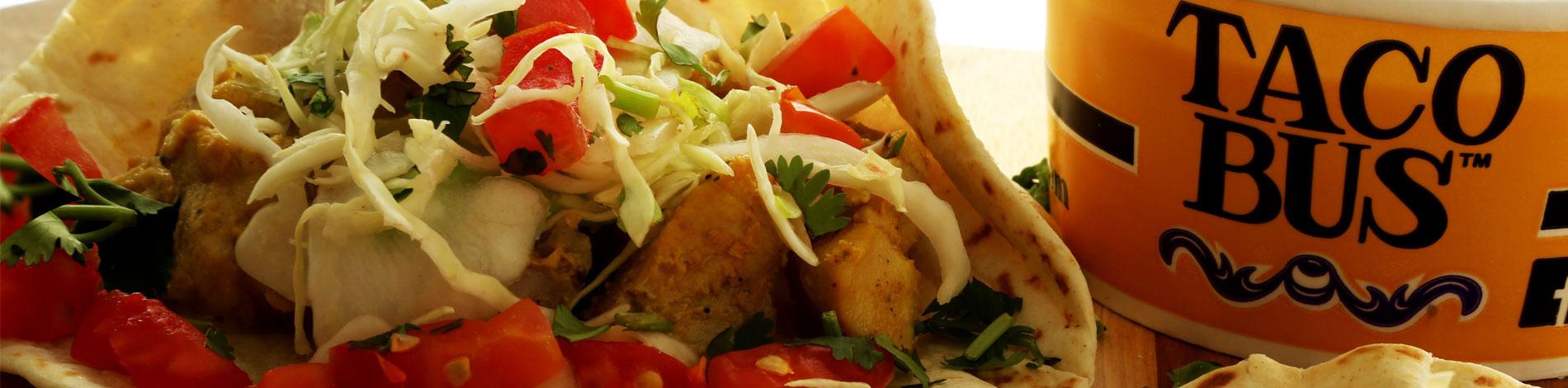 Taco Bus Tacos and Salsa