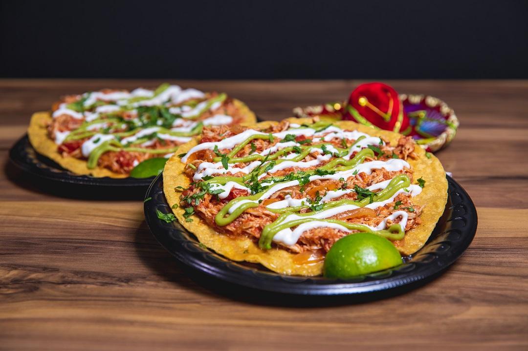 Taco Bus - Chicken Tinga - Tostada