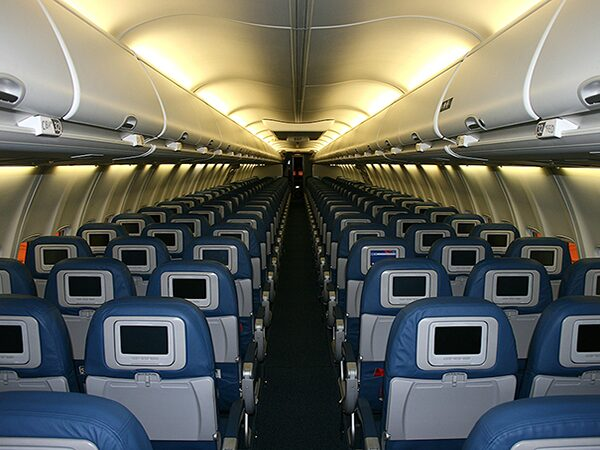 CleanCoat airplane seats, tray tables, arm rests, overhead bins, lavatories and more with XTI-360.  Surfaces treated with XTI-360 will disinfect themselves 24 hours a day, 7 days a week, for at least a year after just one treatment.