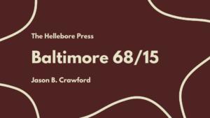 Baltimore 68/15