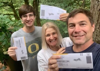 Our Family Voted Together