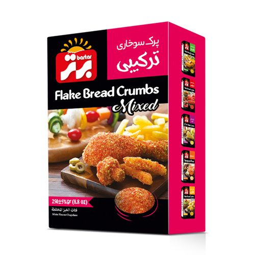 Flake Bread Crums (Mixed)