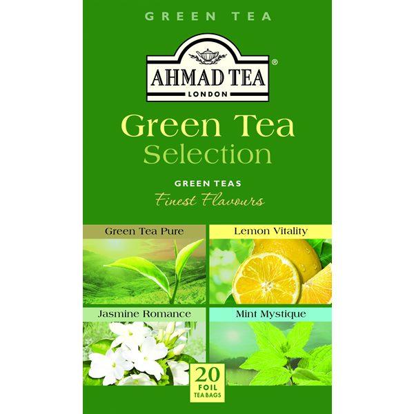 Green Tea Selection 6 x 20