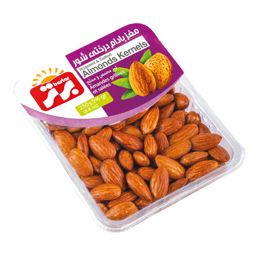Nuts – Almonds(Salty & Roasted) 12 x 250g