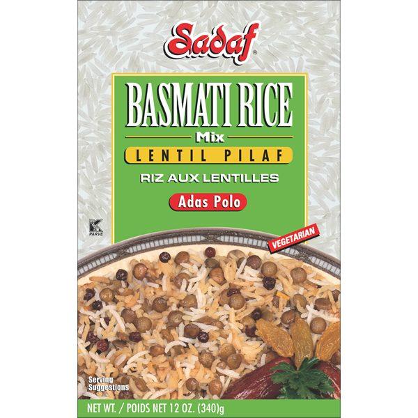 Rice Mix Lentils Pilaf
