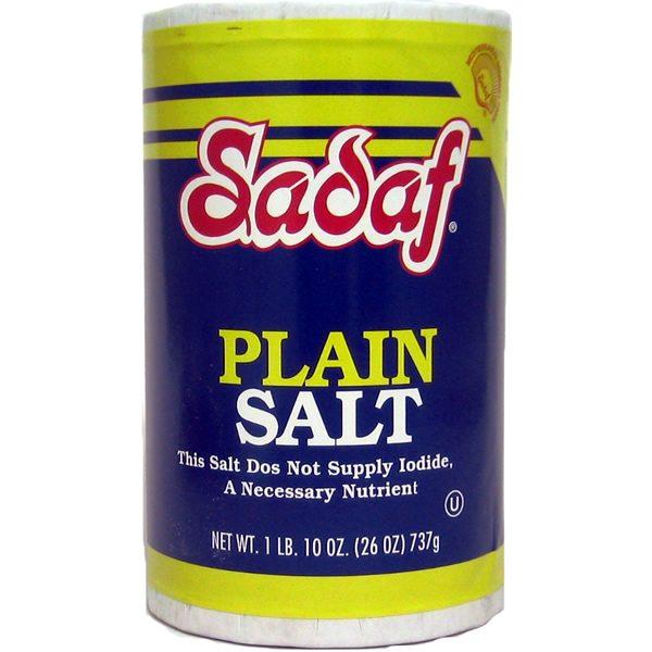 Salt Table Plain 24 x 26 Oz