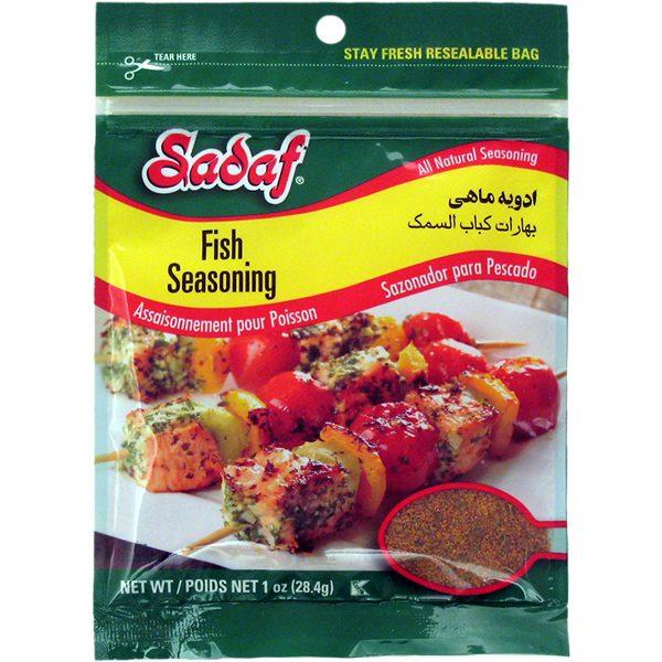 Seasoning, Fish 12 x 1 Oz