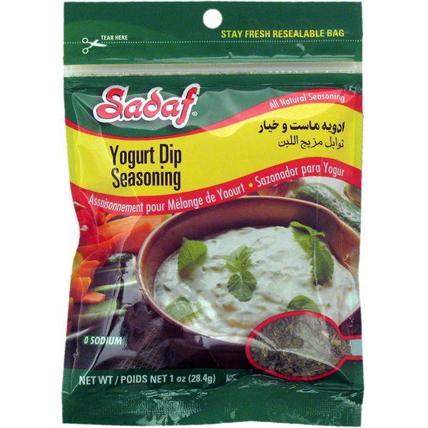Seasoning, Yogurt Dip 12 x 1 oz