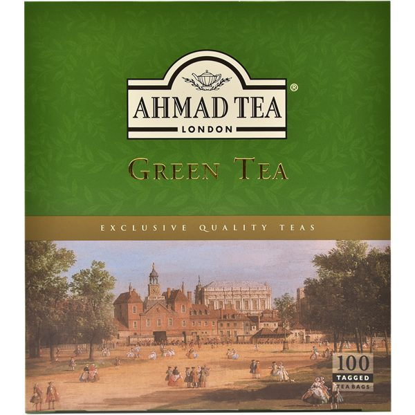 T.B Green Tea NEW 12 x 100