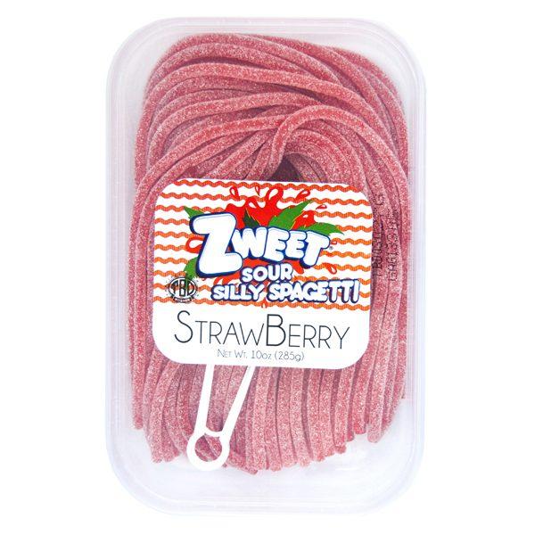 Zweet Sour Strawberry Spagetti 6 x 10 oz