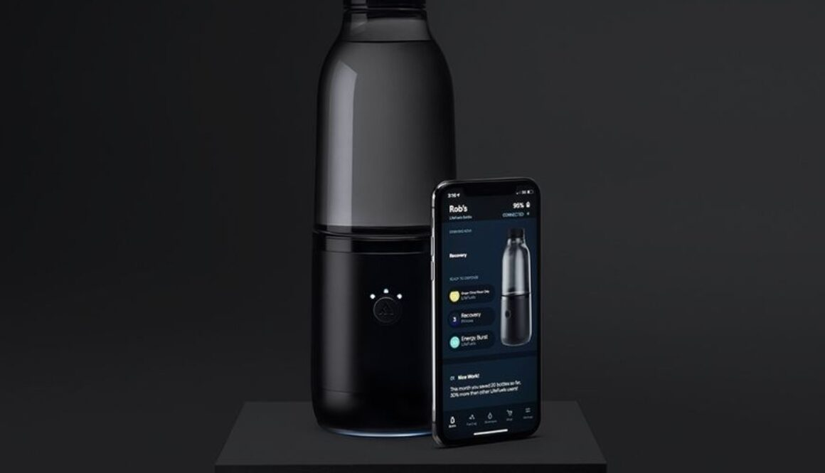 LifeFuels' Smart Nutrition Bottle With Intake Insights