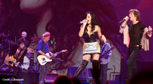 Rolling Stones in Las Vegas with Katy Perry (credit: J. Bouquet)