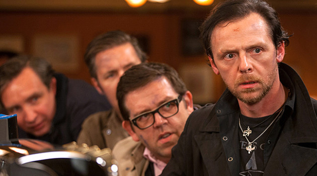 Nick Frost and Simon Pegg The World's End
