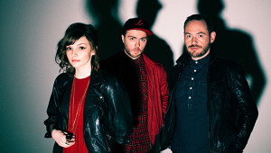 Chvrches photo by Eliot Hazel