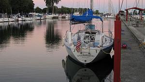 Woolamaloo sails international waters