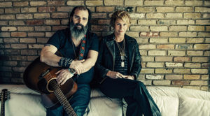 Steve Earle and Shawn Colvin by Alexandra Valenti
