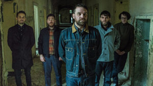 Frightened Rabbit photo by Dan Massie