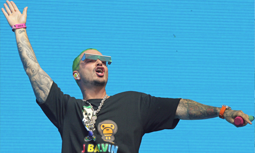 J Balvin Lollapalooza Day 3