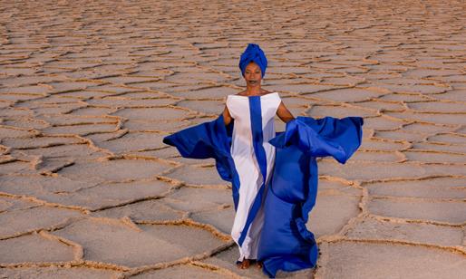 Fatoumata Diawara Photo by Aida Muluneh