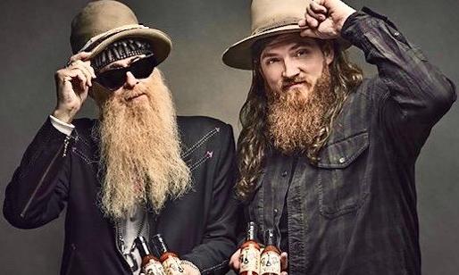 Sauce brahs: Billy F Gibbons and Tim Montana