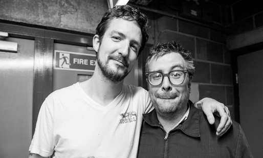 Frank Turner and Jon Snodgrass photo courtesy of sy of Xtra Mile Recordings
