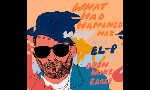 Image promoting Open Mike Eagle's podcast What Happened Was