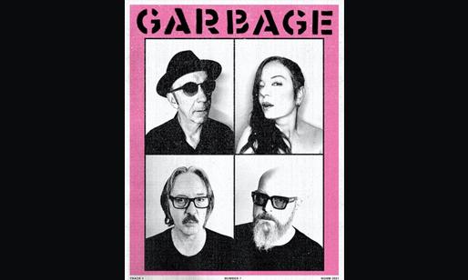 Garbage, art provided by Garbage