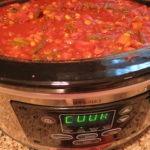 Southwestern Slow Cooker Vegetarian Chili