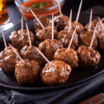Quick and Easy Cocktail Meatballs