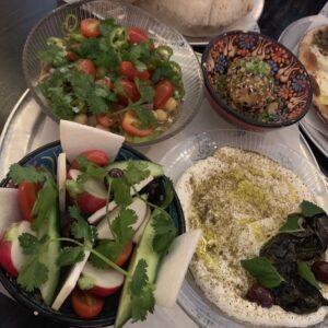 Mezza Platter at Suraya