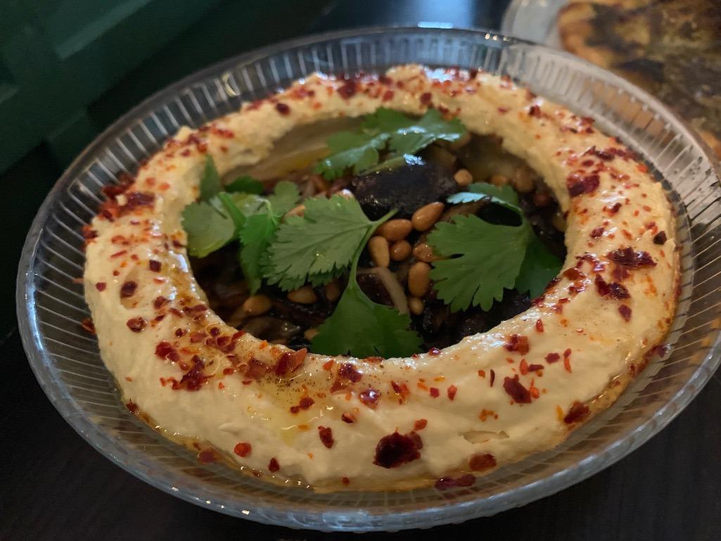 Mushroom Hummus Suraya Philladelphia Philly Food