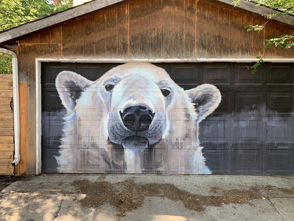 Cal Bartesky Art work Winnipeg