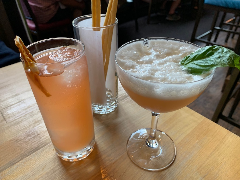 Cocktails at Alavita Restaurant Boise Idaho