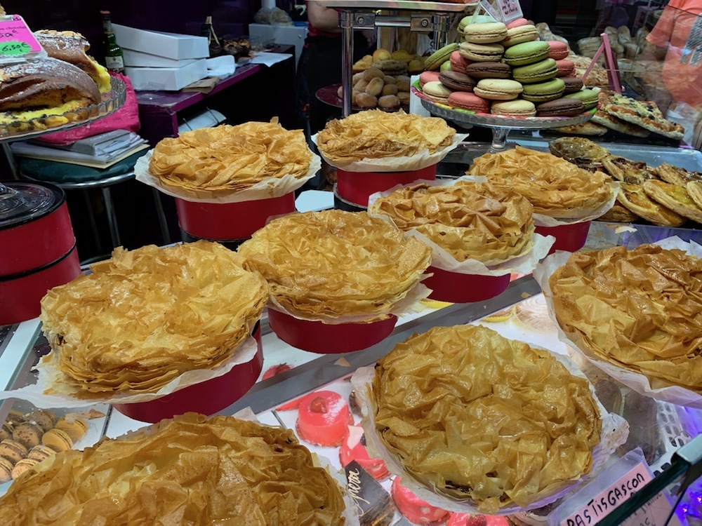 Market goodies in Narbonne