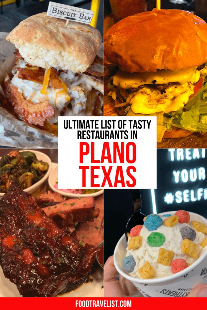 Ultimate List of Tasty Restaurants in Plano Texas