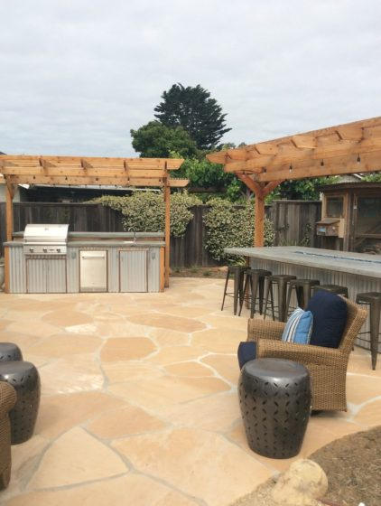 Outdoor Kitchens, Ashley Farrell Design