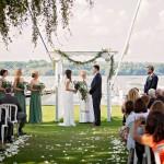 Weddings - outdoor ceremony location Hamilton